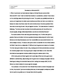9 11 essay thesis statement