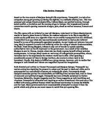 Essays on persepolis