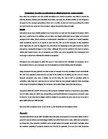 Essay For School Uniforms Introduction Paragraph