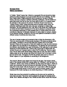 shrek media coursework Read this full essay on shrek in traditional fairytales, ogres are man-eating beasts the prince usually rescues the princess they marry and live happily e.