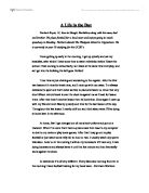 Persuasive Essay Topics High School A Day In The Life Of Process Essay Thesis also Essays On English Literature The Moment Of Truth Some May Ponder On How Merely Playing Hockey  Argumentative Essay Examples For High School