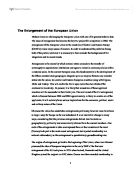 what is the future for european union a level politics marked related as and a level european union essays