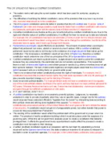 essay plan the uk should not have a codified constitution a  page 1 zoom in