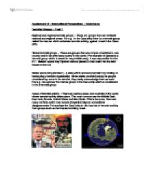 global perspectives a level essay