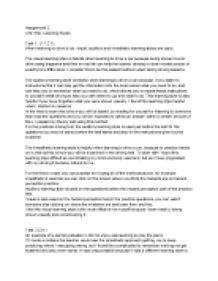 learning styles essay introduction