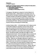 child developmental psychology essay