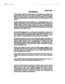 stress management essay essay on stress management