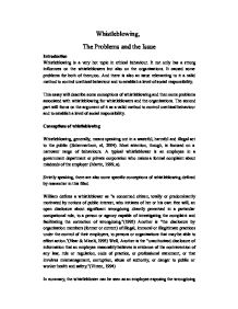 whistleblowing the problems and the issue a level psychology  page 1 zoom in