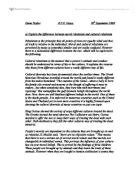 Essay on subjectivism
