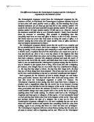 cosmological argument aquinas essay