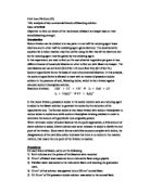 essay analysis a commercial bleach lab report