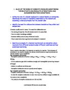 aspirin investigation coursework