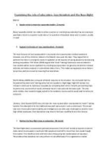 Health Care THE RIGHT Or Product Sociology Essay