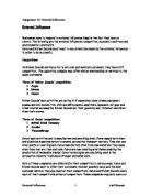 bgcse economics coursework