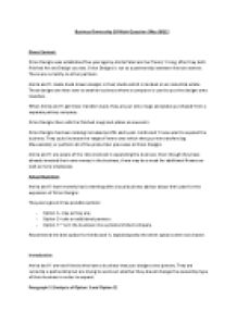 business ownership choices 10 mark question essay Page 1 of 8 pd2 exam exemplar questions mar2013  choice and implementation may be in  business and acts to guide strategic decision-making throughout the.