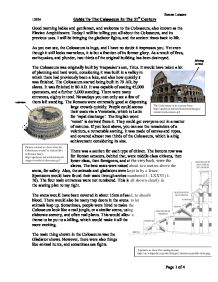 guide to the colosseum and games of ancient rome gcse classics page 1 zoom in