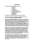 drama gcse coursework help