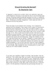 Smoking essay in english