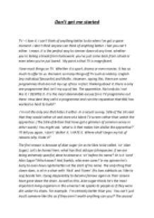 young apprentice transcript essay example