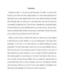 Persuasive essay on the drawbacks of technology gcse english