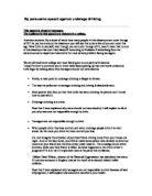 gcse english speech essay