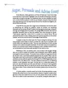 writing to argue persuade and advise essays Order thesis online gcse writing a persuasive speech order of arguments in an related gcse writing to argue, persuade and advise essays peer pressure.