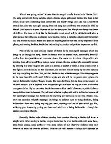 persuasive essay defending barbie gcse english marked by  page 1 zoom in