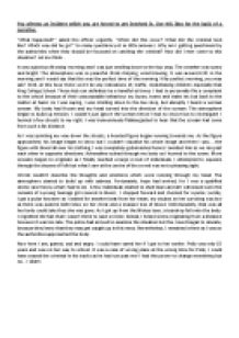 Essay on witness