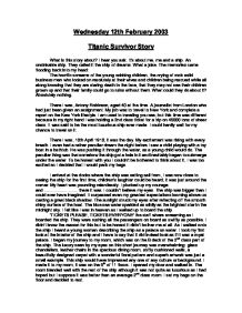 survival university essay