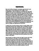 Autobiography college essay