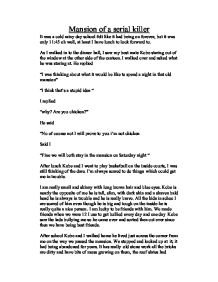 serial killer essay