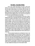 descriptive writing of a beach gcse english marked by teachers com english descriptive essay the match