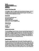 minority report essay gcse english marked by teachers com school report