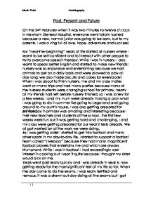 Proposal Essay Outline  Causes Of The English Civil War Essay also Essay On Terrorism In English Autobiography My Past Present And Future  Gcse English  Example Of A College Essay Paper