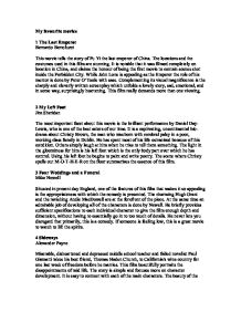 my favorite movie titanic essay