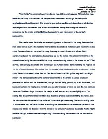 literary criticism essay example