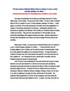 Crucible thesis paragraph
