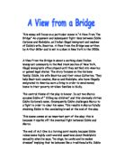 a view from the bridge analysis
