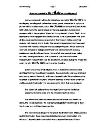 War Against Terrorism In Pakistan Essay Crucible Essay Topics Co Crucible Essay Topics Sample Interview Essays also Refutation Essay Essay Topics For The Crucible Long Essay The Crucible Gcse English  An Example Of An Expository Essay