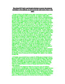 A doctors journal entry poem analysis essay