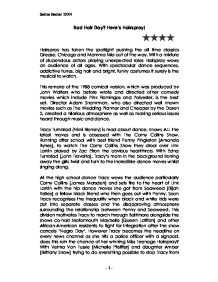 hairspray film review gcse english marked by teachers com page 1 zoom in