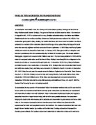 Fankenstein persuasuive essay why the monster shouldnt be destroyed