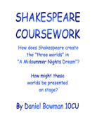 in what ways do shakespeare and