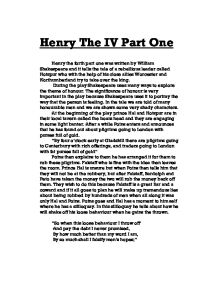 essays henry iv part 1 Increase your energy, focus, and endurance in the gym henry iv part 1 act 3 analysis essay - college research paper for sale.