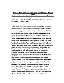julius caesar essay assignment