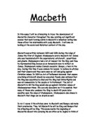 lady macbeths conscience in shakespearess macbeth essay Essays research papers - lady macbeth's conscience in shakespeares's macbeth.
