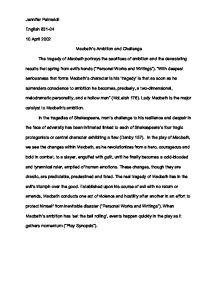 Macbeth Essay On Ambition  Writing For Online also Topics Of Essays For High School Students  Research Proposal Essay
