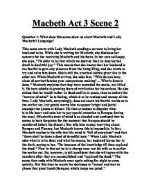 how does shakespeare show language techniques on macbeth Use of language in macbeth shakespeare here uses language to show us what macbeth's how does shakespeare use language and dramatic devices to reveal the.