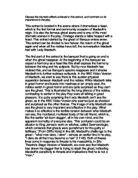 how is the atmosphere of evil achieved in macbeth essay