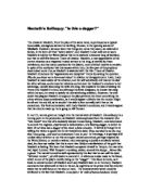 Macbeth Soliloquy Analysis - GCSE English - Marked by Teachers com